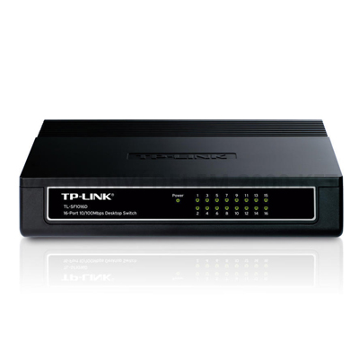 TP LINK TL-SF1016D 10/100Mbps 16 portos switch