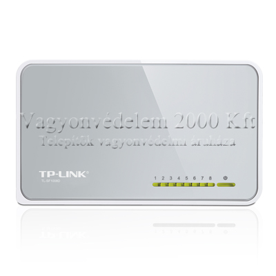 TP-LINK SF1008D 10/100Mbps 8 portos mini switch